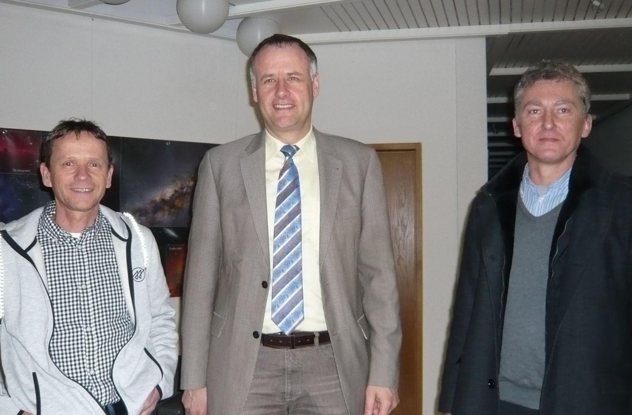 Besuch Gerhard Kelter und Bernhard Stehlin bei BM Breig am 23. Jan 2016